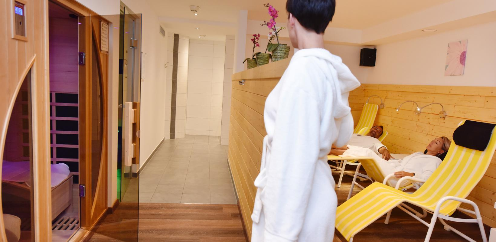 Wellnessbereich des Hotel Vallüla St. Gallenkirch