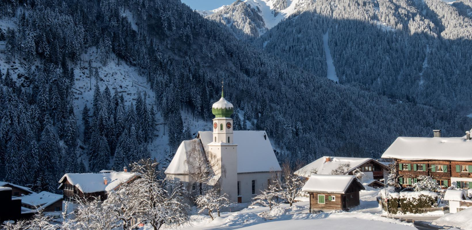 St. Gallenkirch im Winter